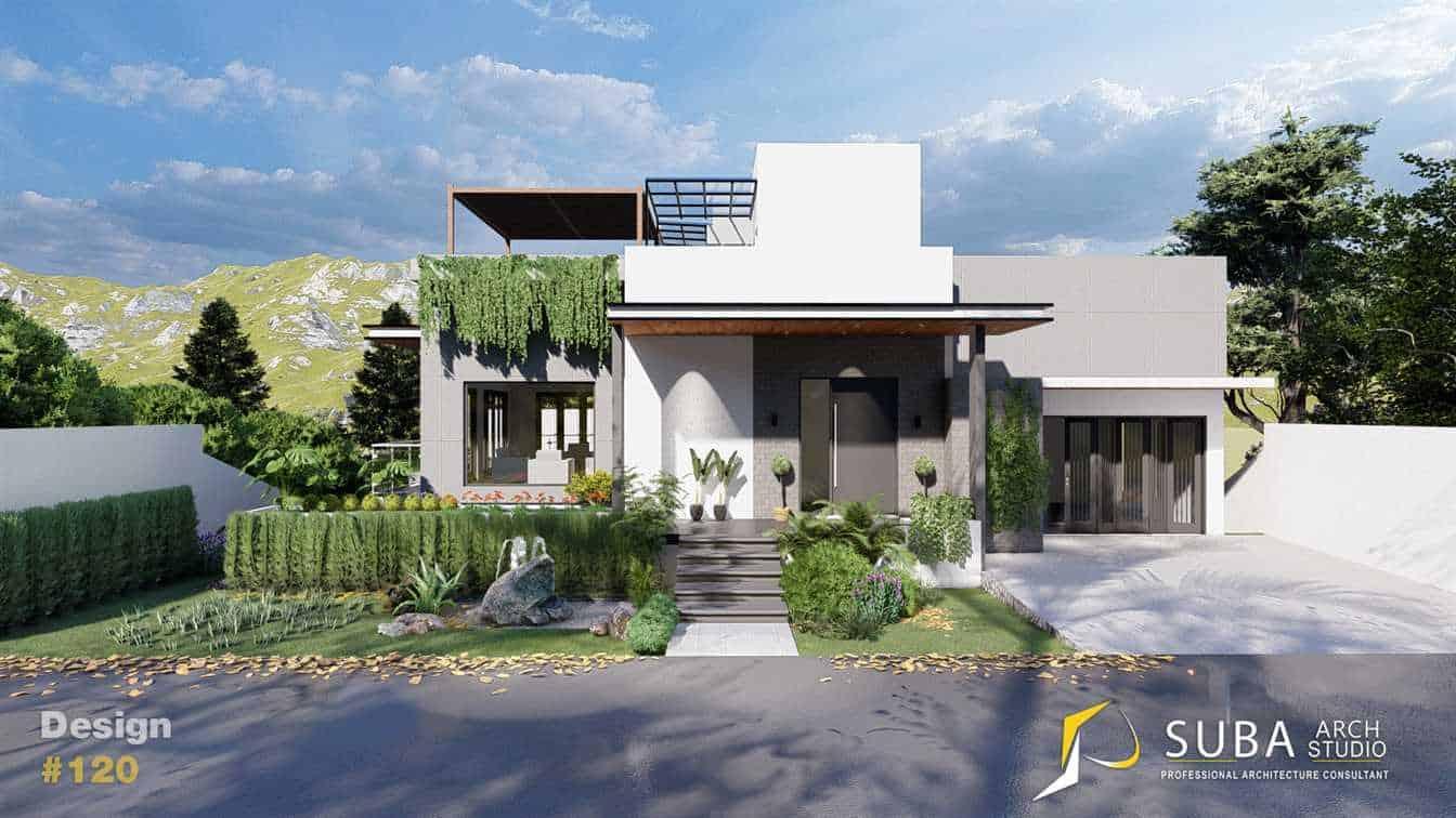 Desain Rumah Ekletik