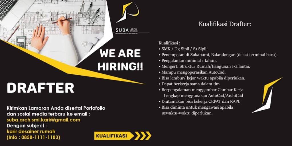 Lowongan Kerja Dan Magang Arsitek Di Sukabumi Suba Arch