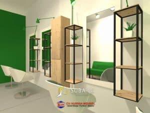 Desain salon 2 sukabumi