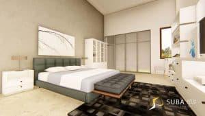 jasa desain interior kamar anak sukabumi abu muda