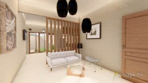 Interior rumah minimalist style